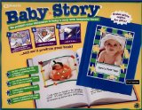 Book Cover Baby Story: Publish Your Memories in Baby's Very Own Keepsake Book!
