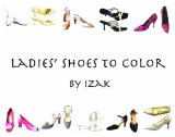 Book Cover Ladies' Shoes to Color