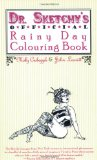 Book Cover Dr. Sketchy's Official Rainy Day Colouring Book