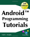 Book Cover Android Programming Tutorials, 3rd Edition