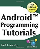 Book Cover Android Programming Tutorials