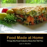 Book Cover Food Made at Home: Things the Food Industry Does Not Tell You
