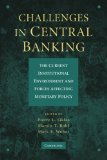 Book Cover Challenges in Central Banking: The Current Institutional Environment and Forces Affecting Monetary Policy