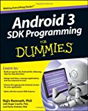 Book Cover Android 3 SDK Programming For Dummies