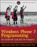 Book Cover Windows Phone 7 Programming for Android and iOS Developers