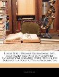 Book Cover Lineae Tertii Ordinis Neutonianae, Sive, Illustratio Tractatus D. Neutoni De Enumeratione Linearum Tertii Ordinis: Cui Subjungitur, Solutio Trium Problematum (Latin Edition)