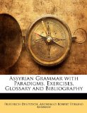 Book Cover Assyrian Grammar with Paradigms, Exercises, Glossary and Bibliography