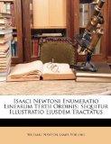Book Cover Isaaci Newtoni Enumeratio Linearum Tertii Ordinis: Sequitur Illustratio Ejusdem Tractatus (Latin Edition)