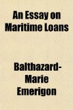 Book Cover An Essay on Maritime Loans