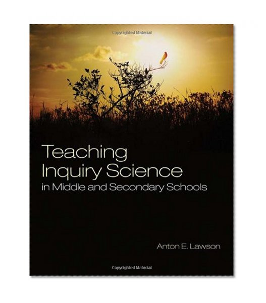 Book Cover Teaching Inquiry Science in Middle and Secondary Schools