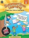 Book Cover Summertime Learning: Prepare Your Child for Kindergarten