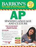 Book Cover Barron's AP Spanish Language and Culture with MP3 CD, 8th Edition