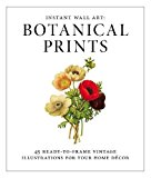 Book Cover Instant Wall Art - Botanical Prints: 45 Ready-to-Frame Vintage Illustrations for Your Home Decor