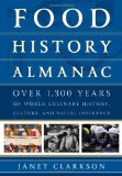 Book Cover Food History Almanac: Over 1,300 Years of World Culinary History, Culture, and Social Influence (Rowman & Littlefield Studies in Food and Gastronomy)