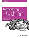 Book Cover Introducing Python: Modern Computing in Simple Packages