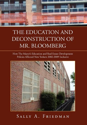 Book Cover The Education and Deconstruction of Mr. Bloomberg