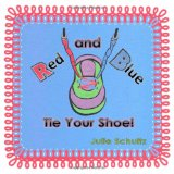 Book Cover Red and Blue Tie Your Shoe!