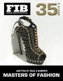 Book Cover MASTERS OF FASHION Vol 35 Heels Part 2: Master Shoe Designers (Fashion Industry Broadcast) (Volume 35)
