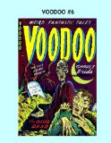 Book Cover Voodoo #6: Thrilling Pre-Code Horror Comics --- All Stories -- No Ads