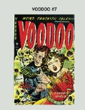 Book Cover Voodoo #7: One of the Scariest Comic Series of the Pre-Code Era ---All Stories -- No Ads