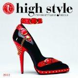 Book Cover 2012 High Style - Bata Shoe Museum Wall calendar