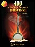 Book Cover 400 Smokin' Bluegrass Banjo Licks (Book/CD)