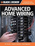 Book Cover Black & Decker Advanced Home Wiring: Updated 3rd Edition * DC Circuits * Transfer Switches * Panel Upgrades