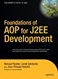 Book Cover Foundations of AOP for J2EE Development