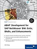 Book Cover ABAP Development for SAP NetWeaver BW: Exits, BAdIs, and Enhancements