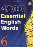 Book Cover 4000 Essential English Words, Book 6