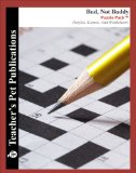 Book Cover Bud, Not Buddy Puzzle Pack - Teacher Lesson Plans, Activities, Crossword Puzzles, Word Searches, Games, and Worksheets (Paperback)