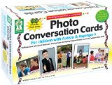 Book Cover Key Education Photo Conversation Cards for Children with Autism and Asperger's