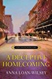 Book Cover A Deceptive Homecoming (A Hattie Davish Mystery)