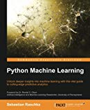 Book Cover Python Machine Learning