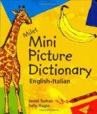 Book Cover Milet Mini Picture Dictionary: English-Italian
