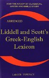 Book Cover Liddell and Scott's Greek-English Lexicon (Greek and English Edition)