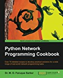 Book Cover Python Network Programming Cookbook