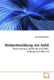 Book Cover Webentwicklung mit AJAX: