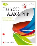 Book Cover Flash CS3, AJAX und PHP, m. CD-ROM