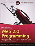 Book Cover Professional Web 2.0 Programming: Using XHTML, CSS, Javascript and AJAX