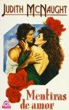 Book Cover Mentiras De Amor (Spanish text)