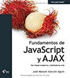 Book Cover Fundamentos de JavaScript y AJAX - Para desarrolladores y diseñadores web (Spanish Edition)