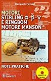 Book Cover Motori Stirling e Ringbom. Motore Manson