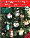 Book Cover Plaid Ornaments to Light up Your Tree Folk Art Acrylic Color (20 Light Bulb & Glass Ball Ornaments)