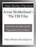 Book Cover Aryan Brotherhood - The FBI Files