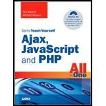Book Cover Sams Teach Yourself Ajax, JavaScript, & PHP All in One (08) by Ballard, Phil - Moncur, Michael [Paperback (2008)]