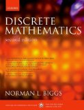 Book Cover Discrete Mathematics 2nd Edition by Biggs, Norman L. published by Oxford University Press, USA