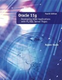 Book Cover Oracle 11g: Developing AJAX Applications with PL/SQL Server Pages 4th Edition by Kaula, Rajeev published by Learning Solutions Paperback
