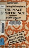 Book Cover [Will] Rogers-isms: The Cowboy Philosopher on the [WWI] Peace Conference (Illustrated) (Pioneers and Patriots Classic Book 24)