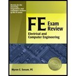 Book Cover FE Exam Review Electrical and Computer Engineering by Sveum PE, Myron E. [Professional Publications, Inc.,2006] [Paperback]